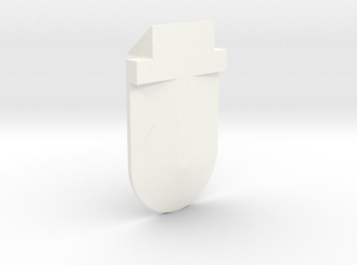 Right Ear Upper Outer Custom 3d printed
