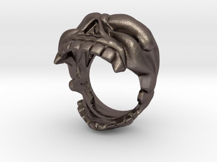 Reaper Skull bottle opener ring size 8 3d printed