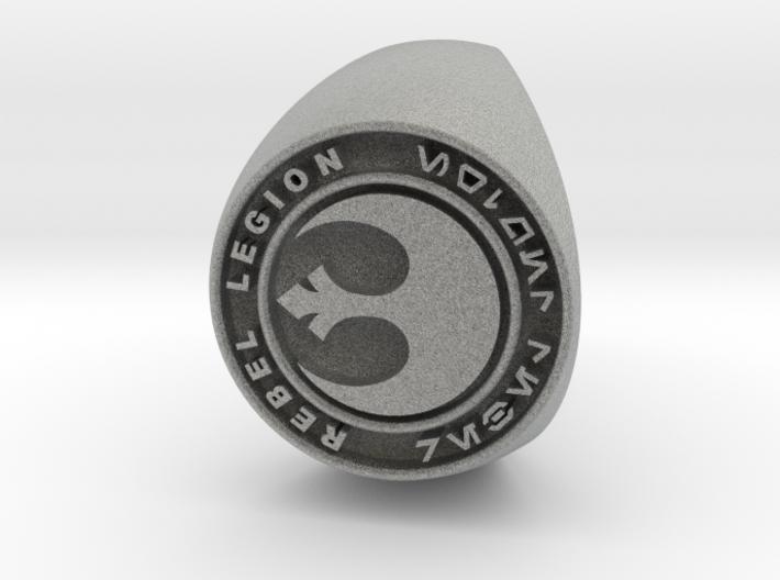Custom Signet Ring Rebel Legion Size 10.5 3d printed