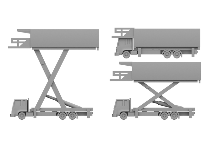 1:400_Catering Trucks [x3][A] 3d printed