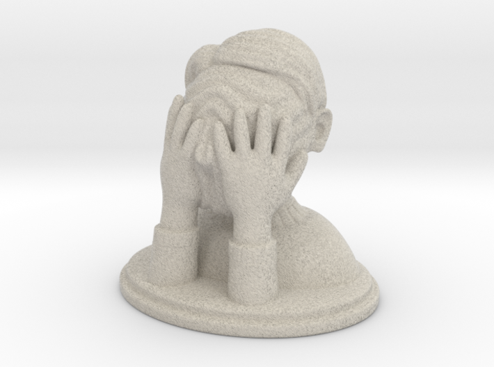 One of those days 3d printed