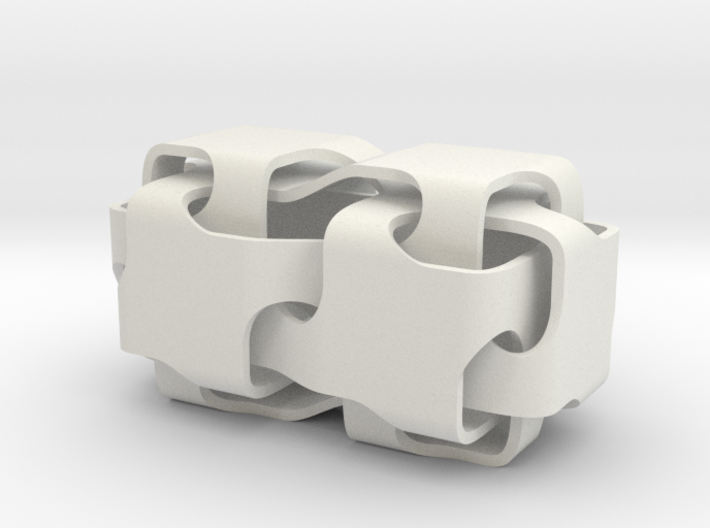 Double-cubes-2 3d printed