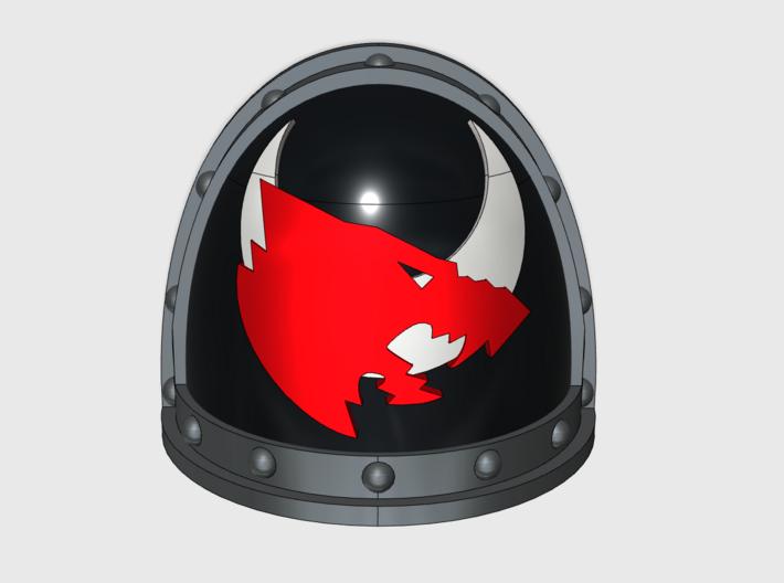 13th Company- Gen2:Crusader Left Shoulder x10 3d printed