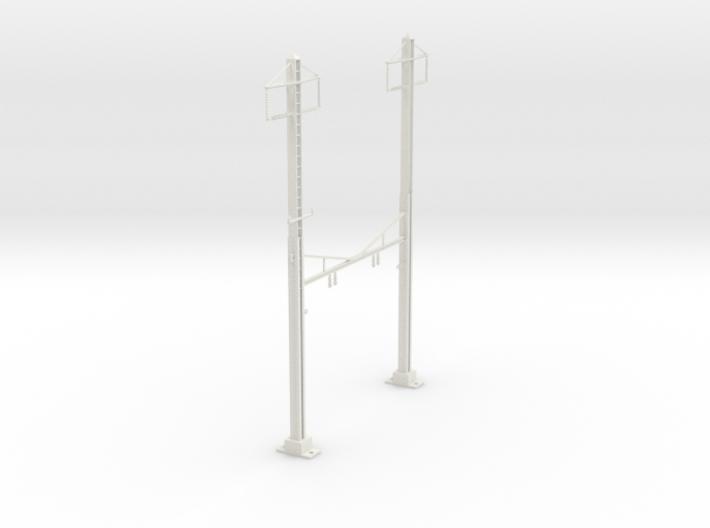 HO Scale PRR K Braced 2 Track 2 phase 3d printed