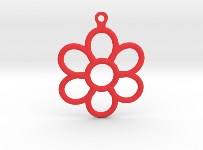 Share Your Smile With Me Sunflower Earrings (Small 3d printed