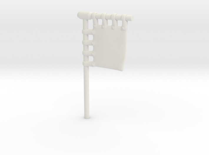 28mm/32mm Customisable Sashimono Flag Short 3d printed