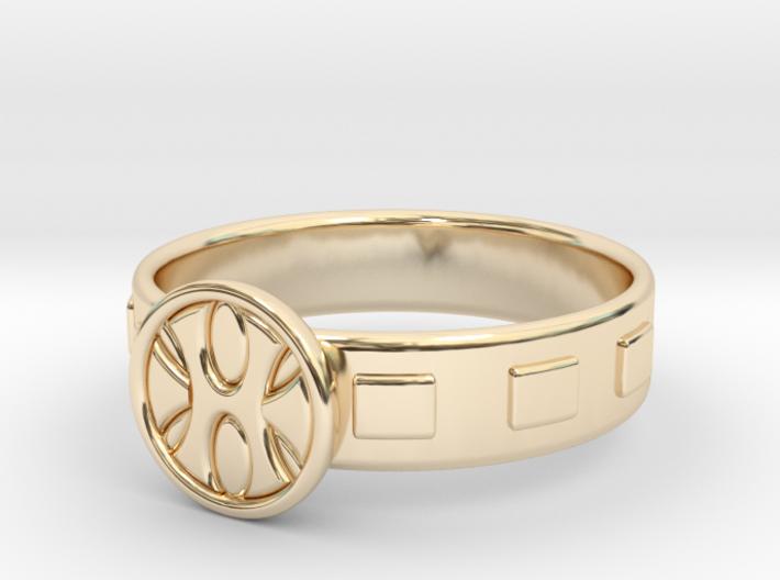 King Grayskull Ring 3d printed