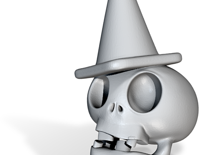 Zombie Skull 3d printed