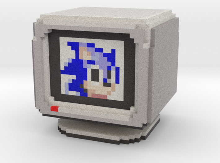 Sonic Extra Life Box 3d printed