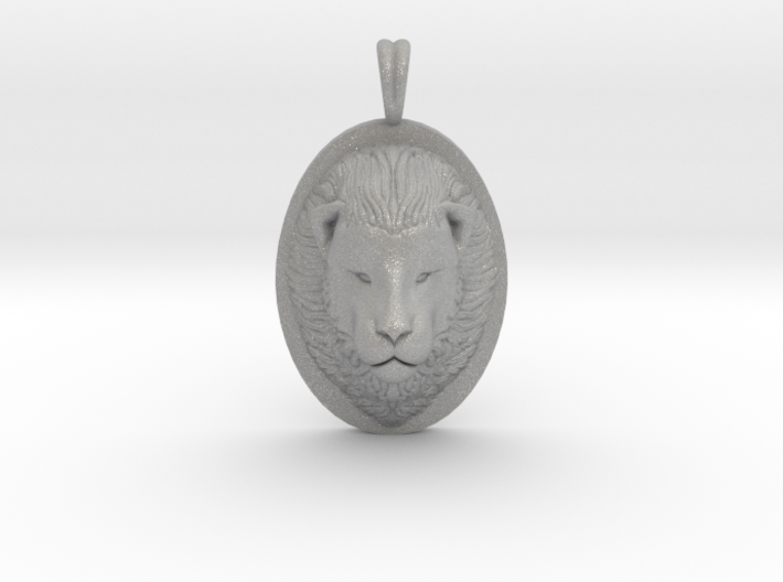 Lion Head Necklace Jewelry - Leo Sign - Symbol 3d printed