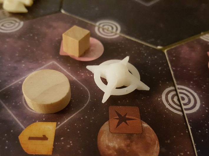 Terran Starbases - Pack of 24 (Connected) 3d printed