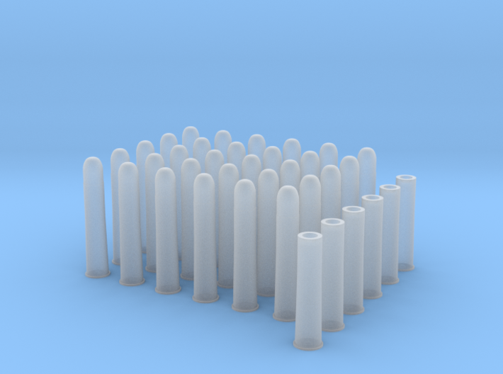1:6 30rds 50-90 Sharps 6 Casings 3d printed