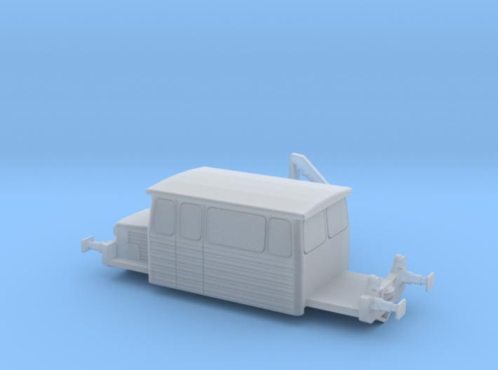 DU65 Draisine N-Gauge Echelle N 1:160 SNCF 3d printed