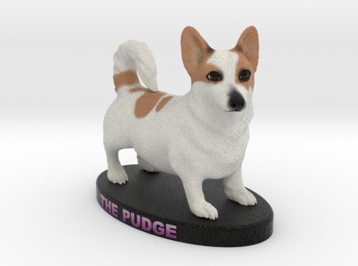 Custom Dog Figurine - Pudge 3d printed