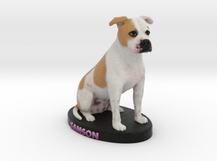 Custom Dog Figurine - Samson 3d printed