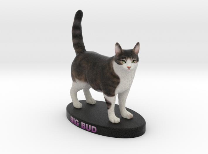 Custom Cat Figurine - Big Bud 3d printed