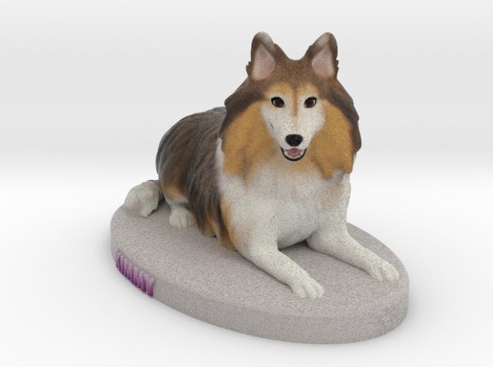Custom Dog Figurine - Kimmy 3d printed
