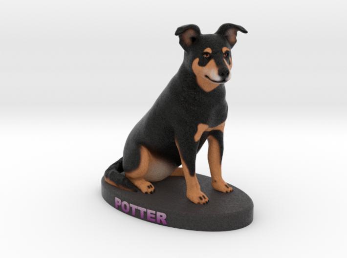 Custom Dog Figurine - Potter 3d printed