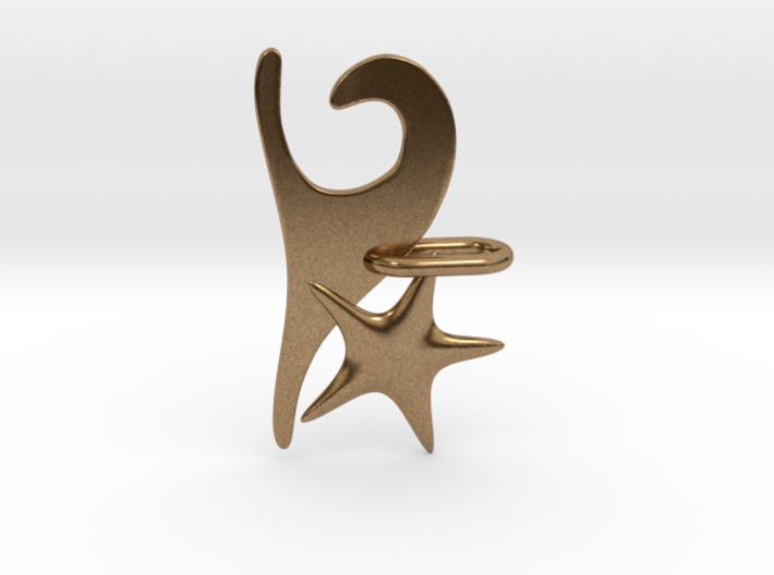 Wave and Starfish 3d printed