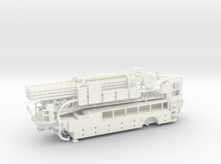 Tiller Body 3d printed