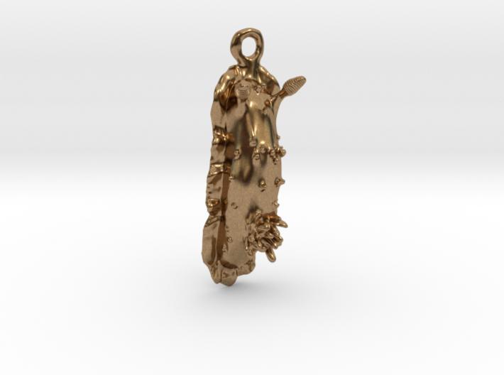 Doris the Nudibranch Pendant 3d printed