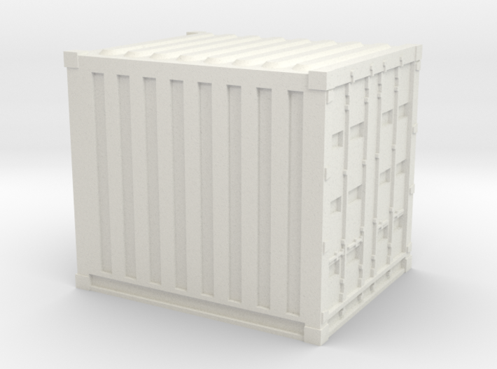 N Scale 10ft Container WSF 3d printed
