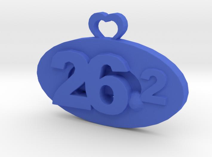Marathon Medal (customizable date) 3d printed