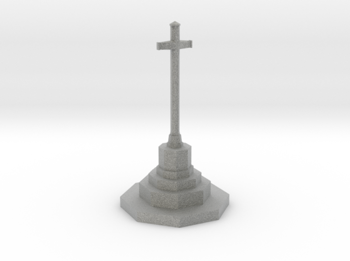 War Memorial in N Gauge (1:148) 3d printed