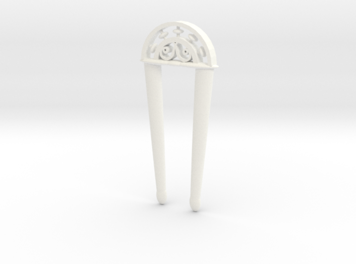 Victorian Architecture Hair Fork 10cm 3d printed