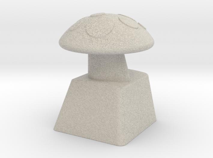 MushroomCap Artisan Cherry Keycap 3d printed
