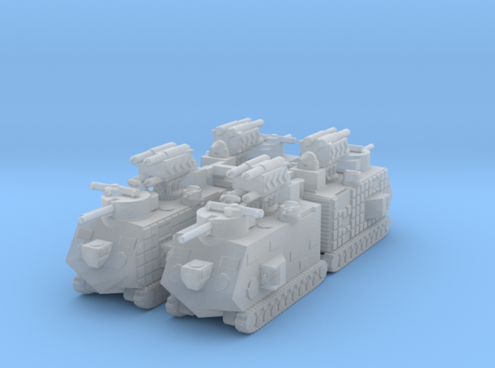 29Japan Artil 6mm X4 3d printed