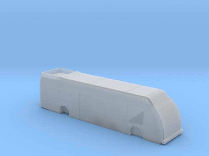 N Scale Eldorado Axess BRT Fuel Cell Bus 3d printed