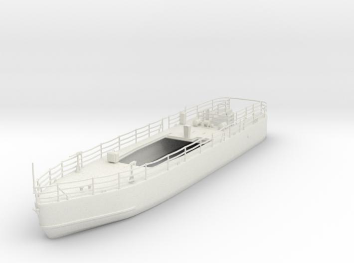 1/87 Island Class WL Hull (Cut 2) 3d printed