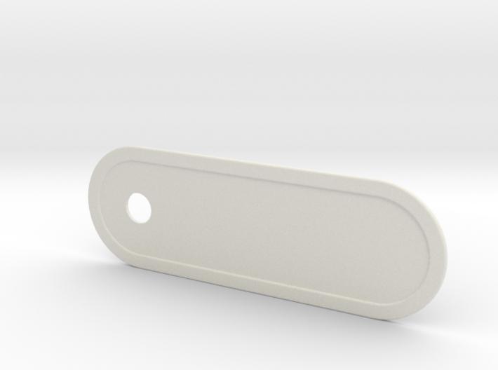 Custom Key Holder Nameplate Large 3d printed