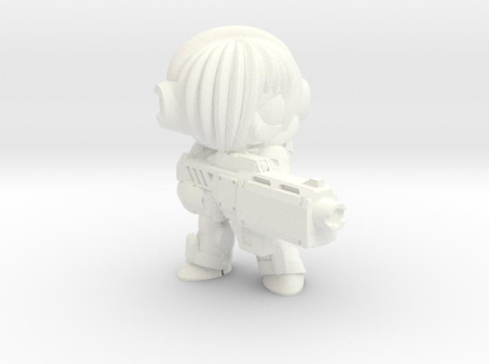 NATALYA CAGE - BEAM - FIRING 3d printed