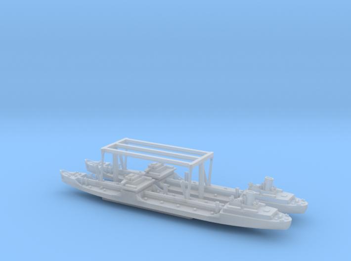 US T2-SE-A1 Standard Tanker 1/2400 3d printed