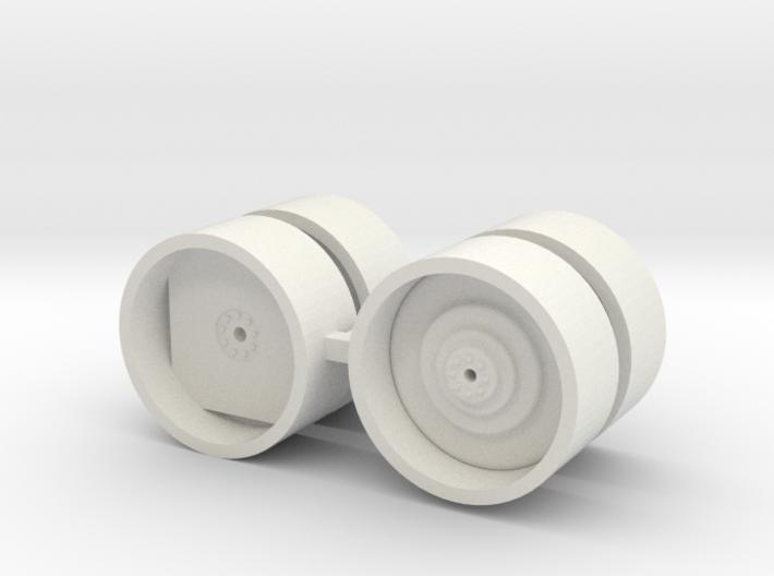 "1/64 46"" Case IH drive and dual wheels 3d printed"