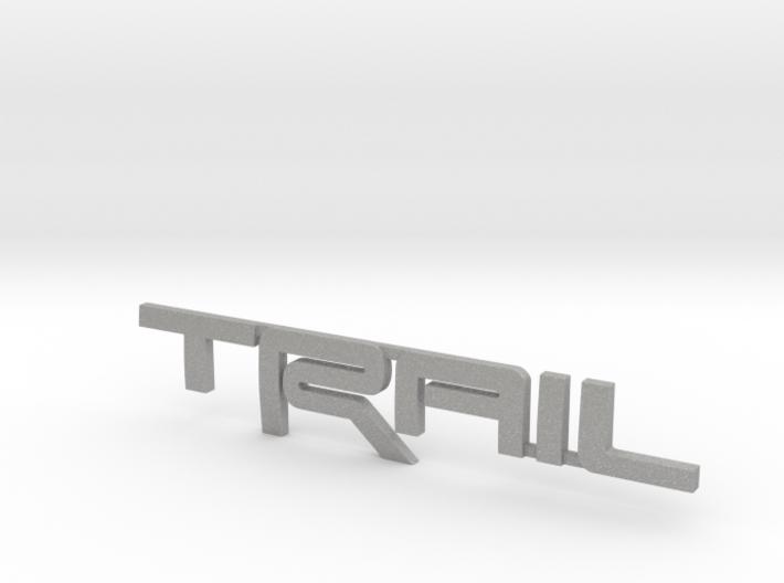 Trail Emblem Revision 02 3d printed