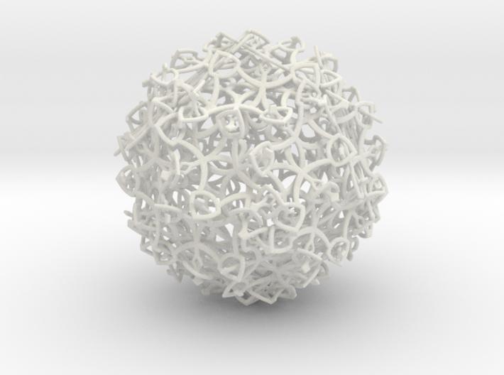 Entangled Snowflakes (Full Version) 3d printed