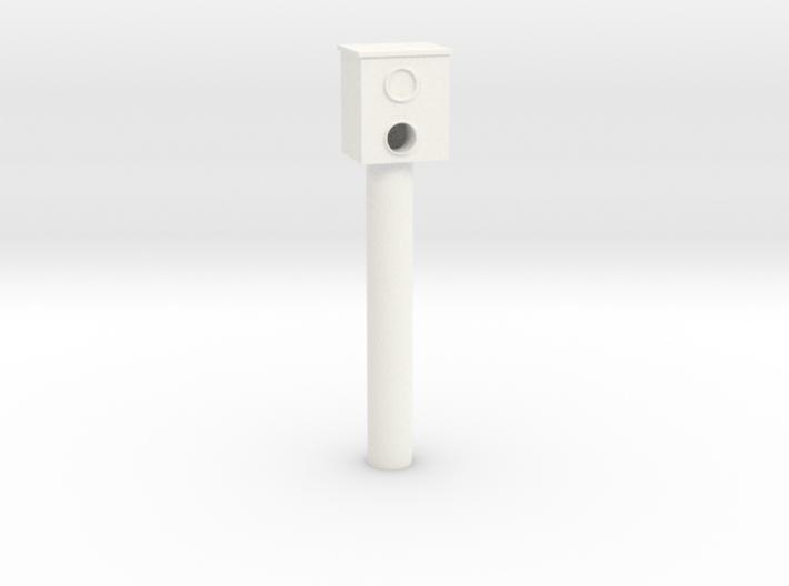 Stationary speed camera (Starenkasten) 3d printed