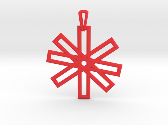 Sacred Geometry Pendant (Big) 3d printed