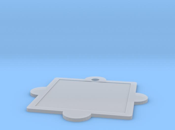 Customizable Mandala Pendant 3d printed