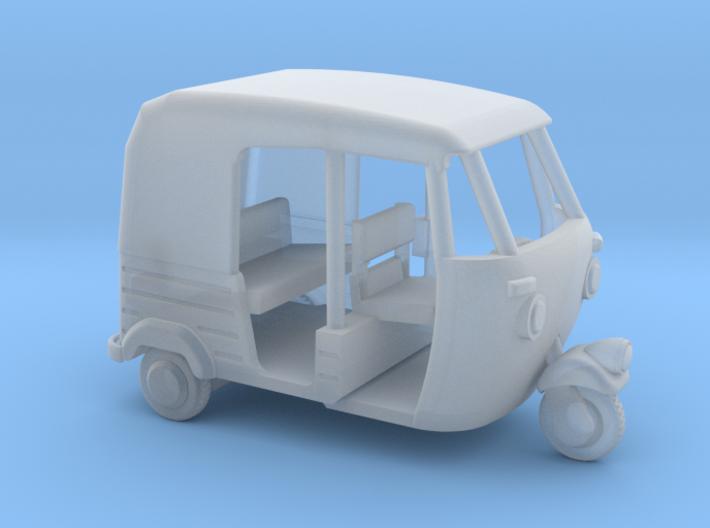 Auto Rickshaw / Tuk Tuk, HO-Scale 1:87 3d printed