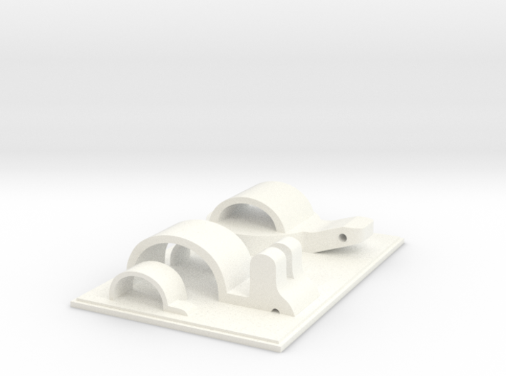Rabbit & Tortoise Playground 3d printed