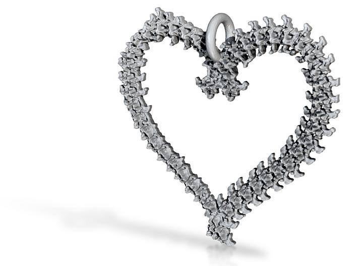 Vertebrae heart 3d printed