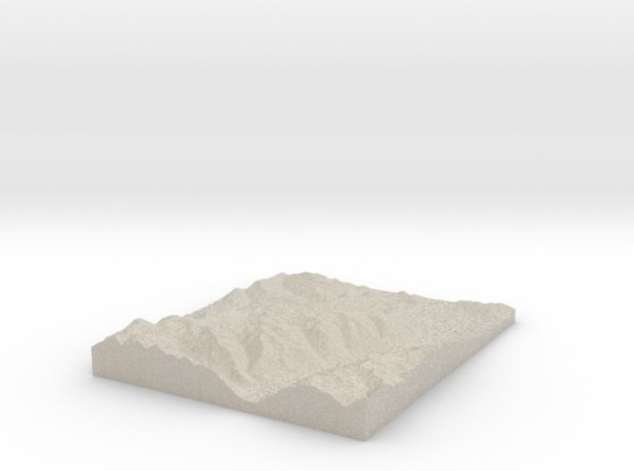 Model of 2nd Basin 3d printed