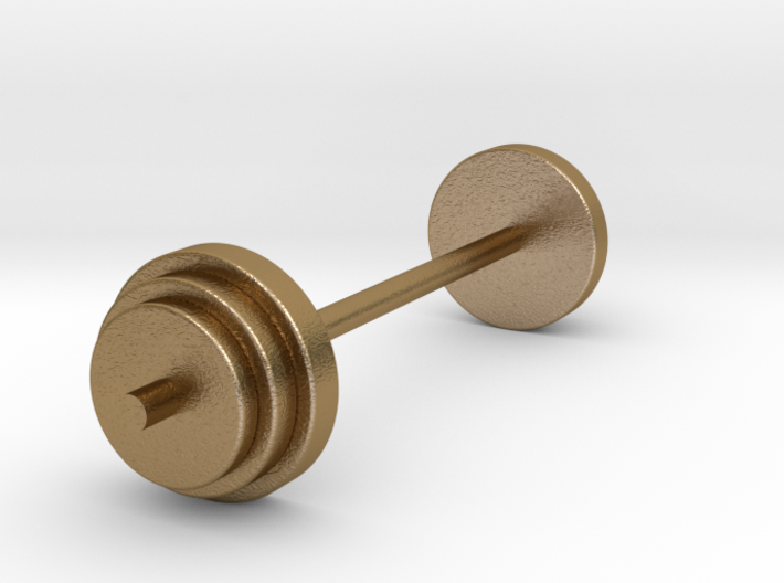 a Mini Traditional Weight Set Merged 3d printed