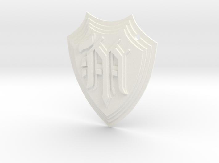 MGHS 3D Keyring 3d printed