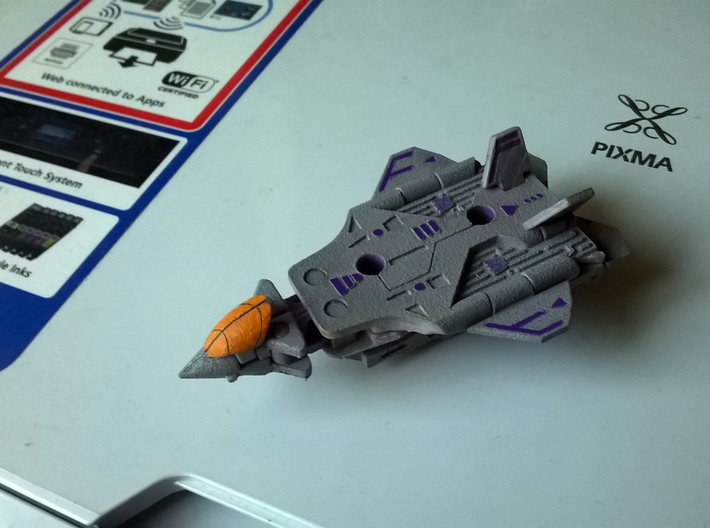 Transformers Cassette-F22 cheap version 3d printed