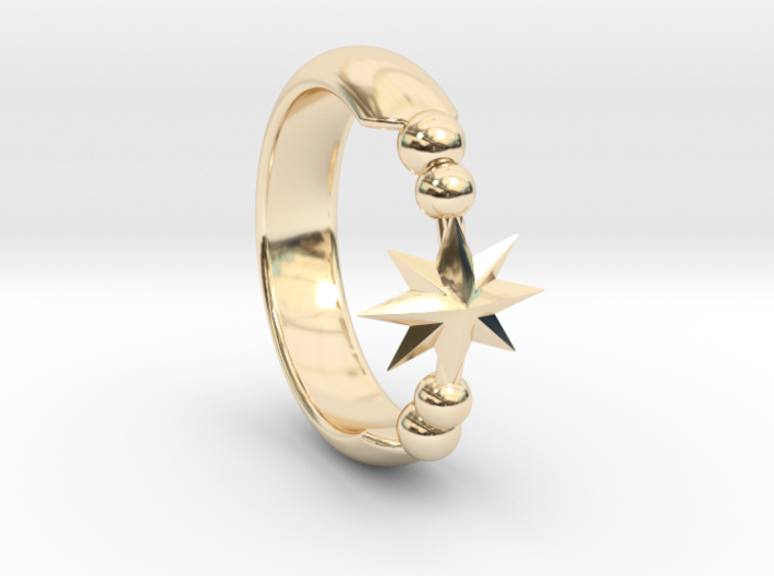 Ring of Star 14.1mm 3d printed